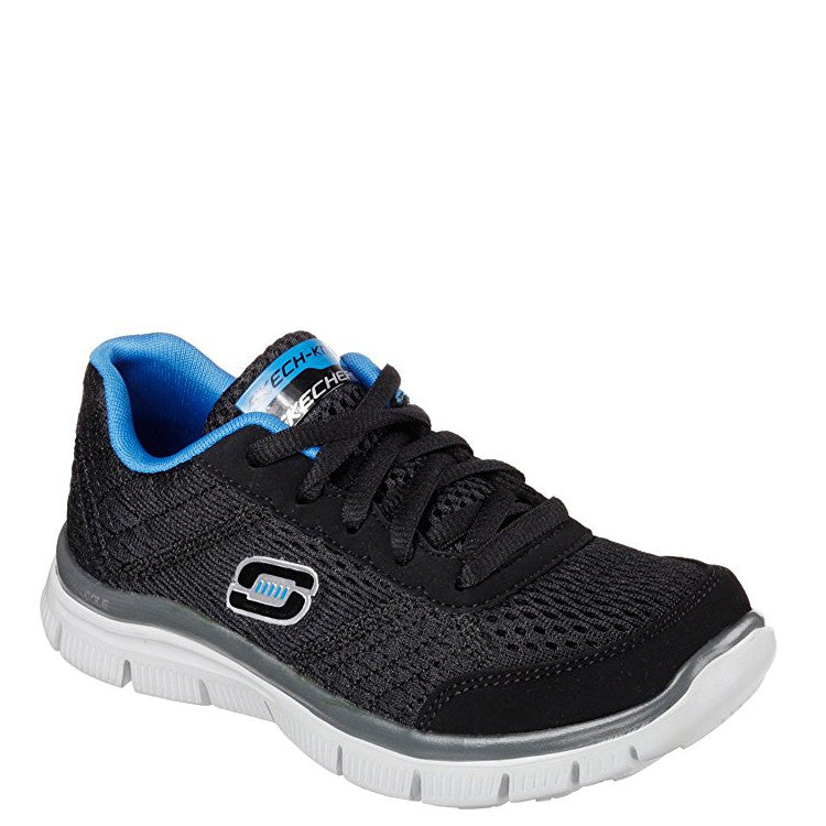 Skechers Boy's Flex Advantage Sneaker - Black/Blue 95527L