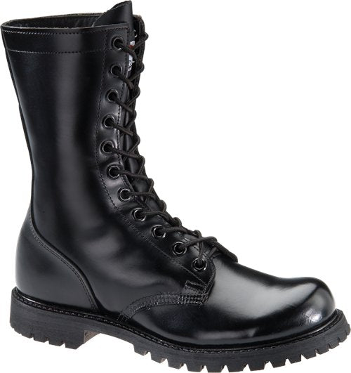 "Corcoran Men's 10"" Plain Toe Uniform Boot - Black 978 - ShoeShackOnline"