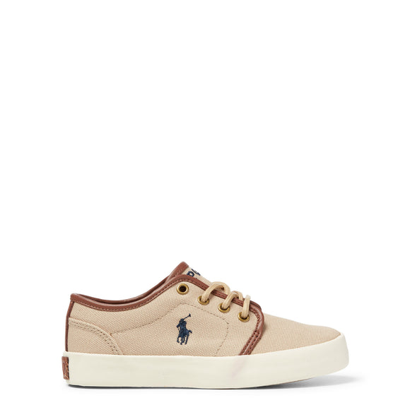 Polo Youth Ethan Low Canvas Sneaker - Khaki 990547J