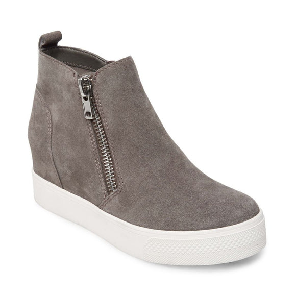 Steve Madden Women's Wedgie - Grey WEDG01S1 - ShoeShackOnline