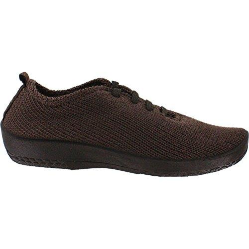 "Arcopedico Women's LS Knit ""Shocks"" Comfort Shoe 1151 Marron/Brown"