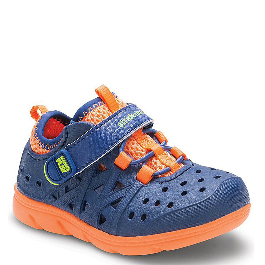 Stride Rite Kid's Made2Play Phibian Sneaker Sandal - Navy BB55409