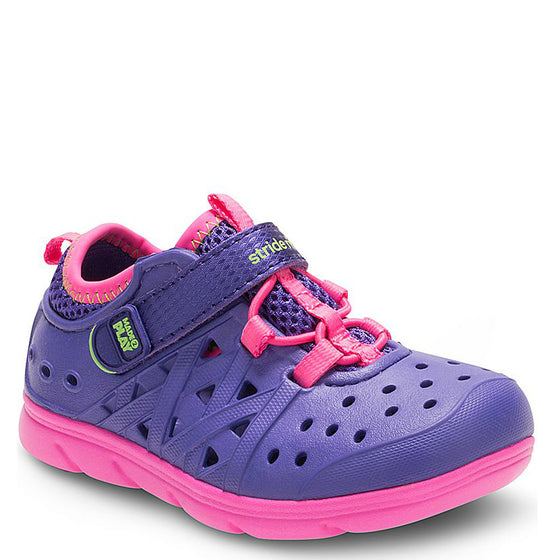 Stride Rite Kid's Made2Play Phibian Sneaker Sandal - Purple/Pink BG56964