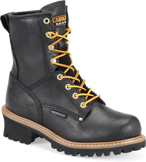 "Carolina Women's 8"" Waterproof Logger Boot - CA420 - ShoeShackOnline"