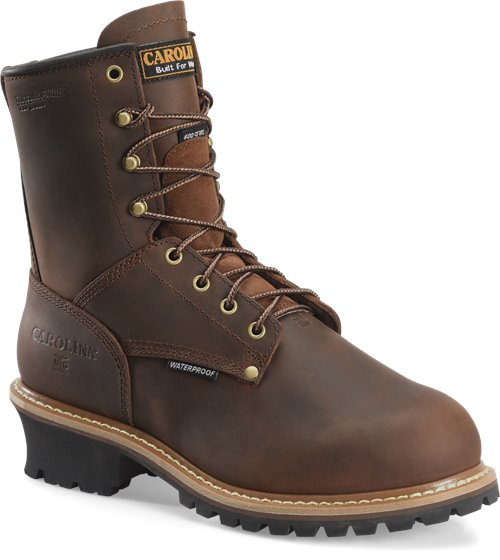 Carolina Men's Waterproof Insulated Steel Toe Internal MetGuard Logger Boot - CA7821 - ShoeShackOnline