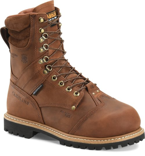 Carolina Men's Waterproof Insulated Composite Toe Internal MetGuard Work Boot - CA7921 - ShoeShackOnline