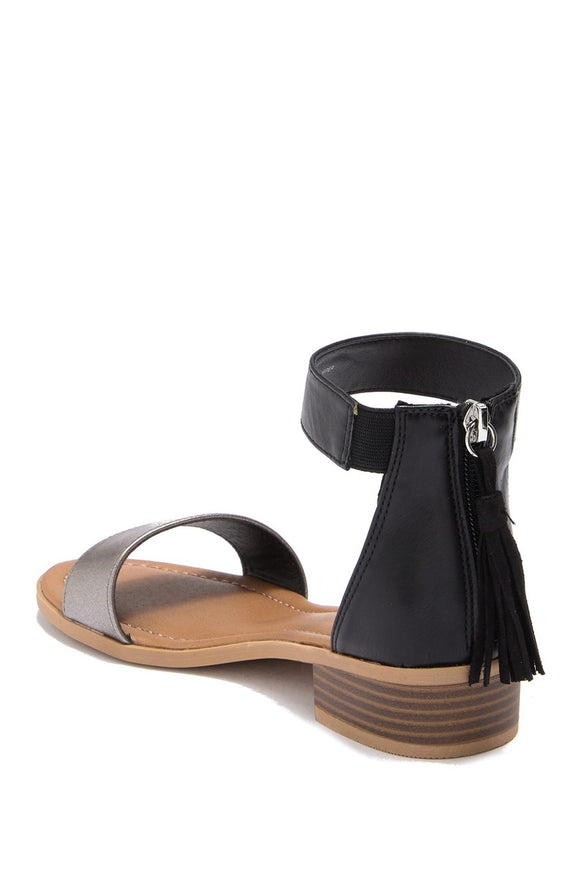 MIA Kid's Paigee Heeled Sandal - Black CSK353