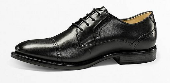Dockers Men's Hawley Brogue Oxford - Black HAWL50002 - ShoeShackOnline