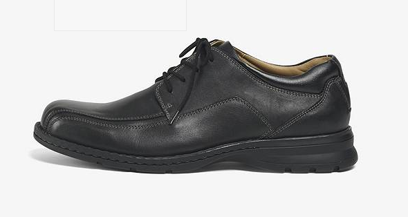 Dockers Men's Trustee Oxford - Black 90-29024 - ShoeShackOnline