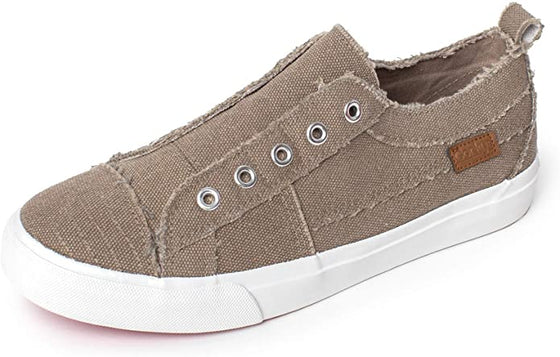 Corkys Women's Babalu Casual Slip On Sneaker Taupe 51-0121
