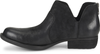 Born Women's Kerri Leather Bootie - Black Distressed D89909