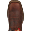 Durango Men's Rebel Patriotic Pull-On Western Flag Boot - Brown DB5554 - ShoeShackOnline