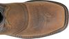 "Double H Men's 12"" Isaac Wide Square Composite Toe Roper - Beige DH5130 - ShoeShackOnline"