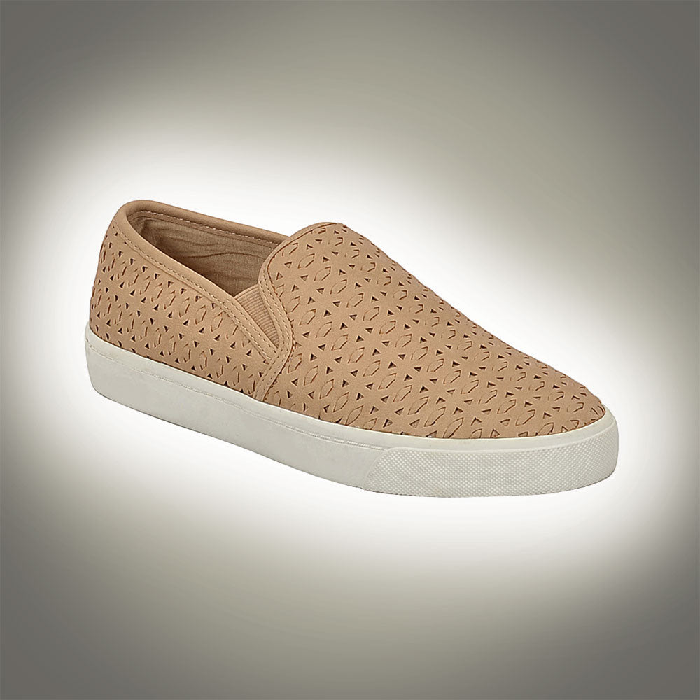 Soda Women's Diploma Slip On Shoes - Natural