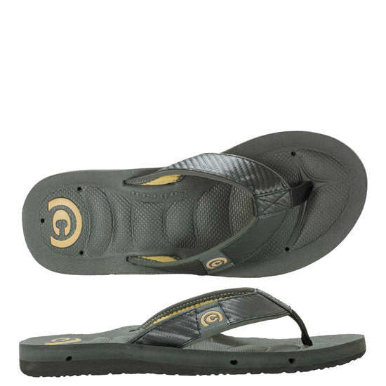 Cobian Men's Draino Sandals - Carbon DRA11-005