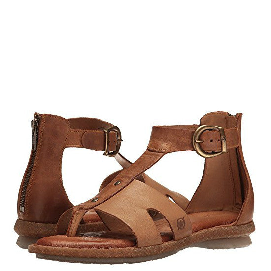 c5cf31ad2f35 Born Women s Timina Ankle Sandal - Taupe F21017 - ShoeShackOnline