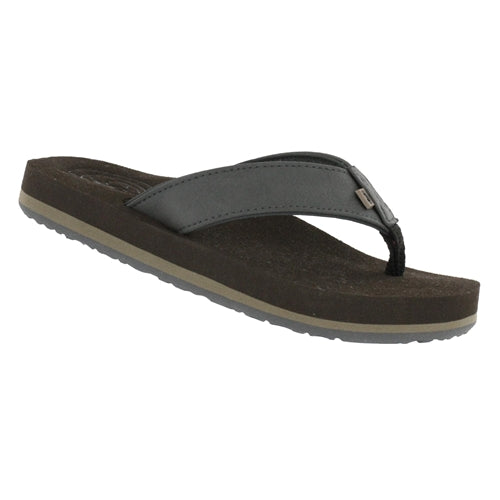 Cobian Kid's Floater 2 Jr Flip Flop - Black FJR19-001 - ShoeShackOnline