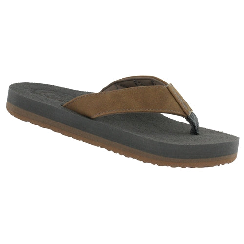 Cobian Kid's Floater 2 Jr Flip Flop - Tan FJR19-230 - ShoeShackOnline