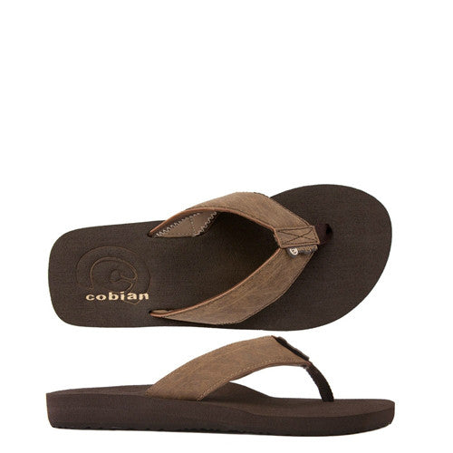 Cobian Men's Floater Sandals - Mocha FLT08-203