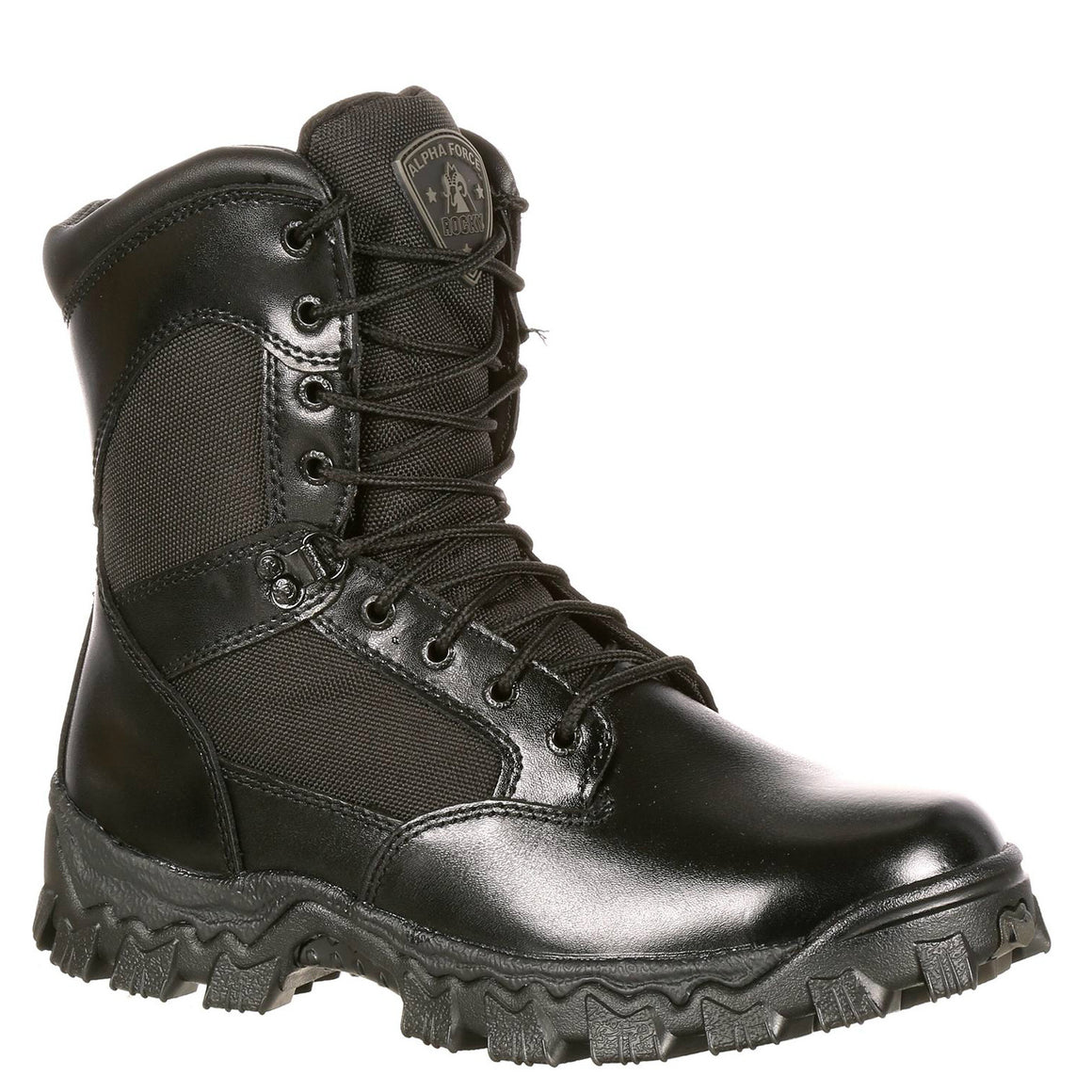 Rocky Men's AlphaForce WP Duty Boot - Black FQ0002165