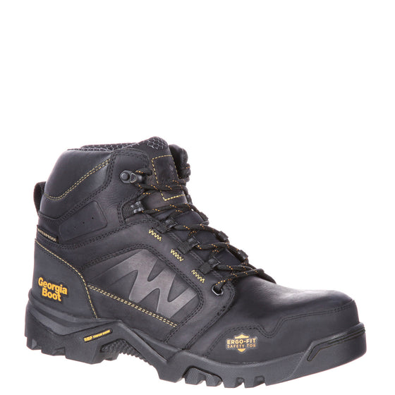 Georgia Men's Amplitude Composite Toe Waterproof Work Boot - Black GB00130