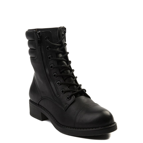 MIA Women's Maeva Combat Boot - Black GS638065