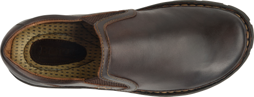 Born Men's Sawyer Casual Slip On Loafer - Dark Brown H16283 - ShoeShackOnline