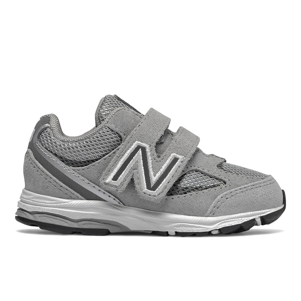 New Balance Infant's 888v2 Tennis Shoe - Grey/White IO888GS2 - ShoeShackOnline