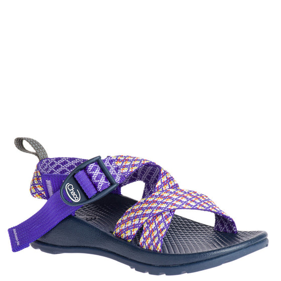 Chaco Kid's Z/1 EcoTread Sandal - Picnic Purple J180008 - ShoeShackOnline