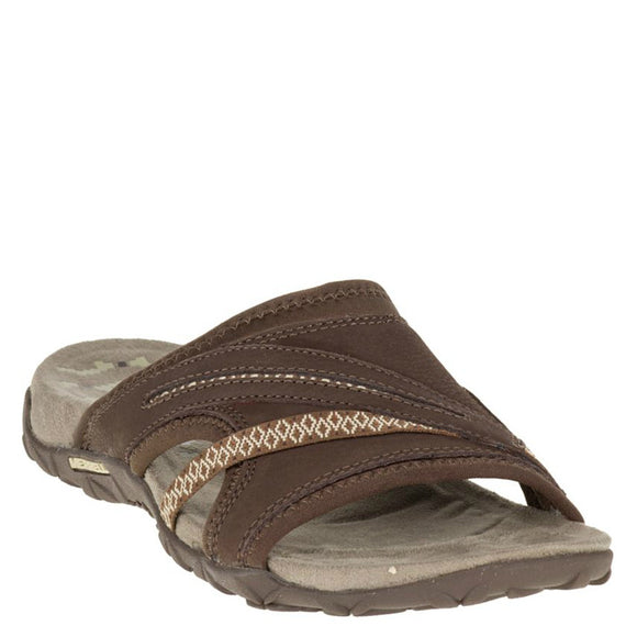 Merrell Women's Terran Slide II Sandal - Dark Earth J55340