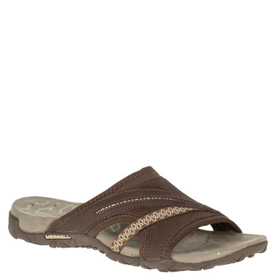Merrell Women's Terran Slide II Sandal - Dark Earth J55340 - ShoeShackOnline