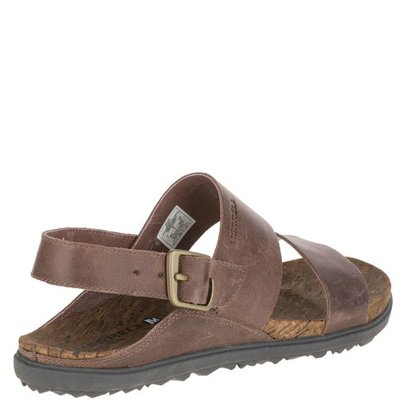 Merrell Women's Around Town Backstrap Sandal - Brown J55534 - ShoeShackOnline
