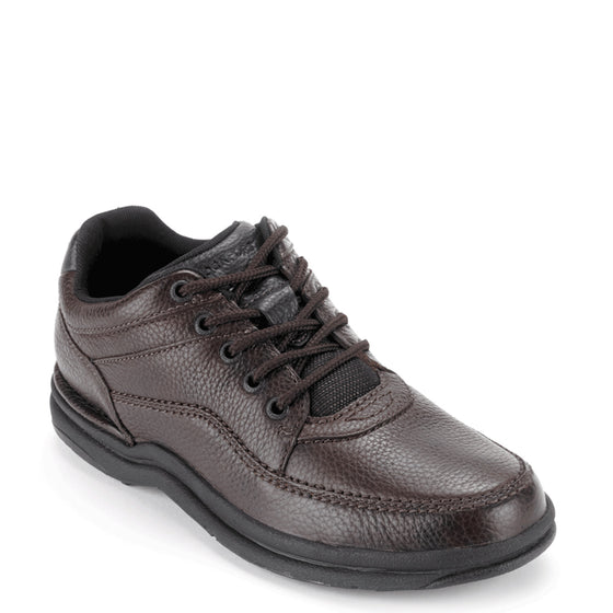 Rockport Men's World Tour Classic Walking Shoe - Brown Tumbled K70884
