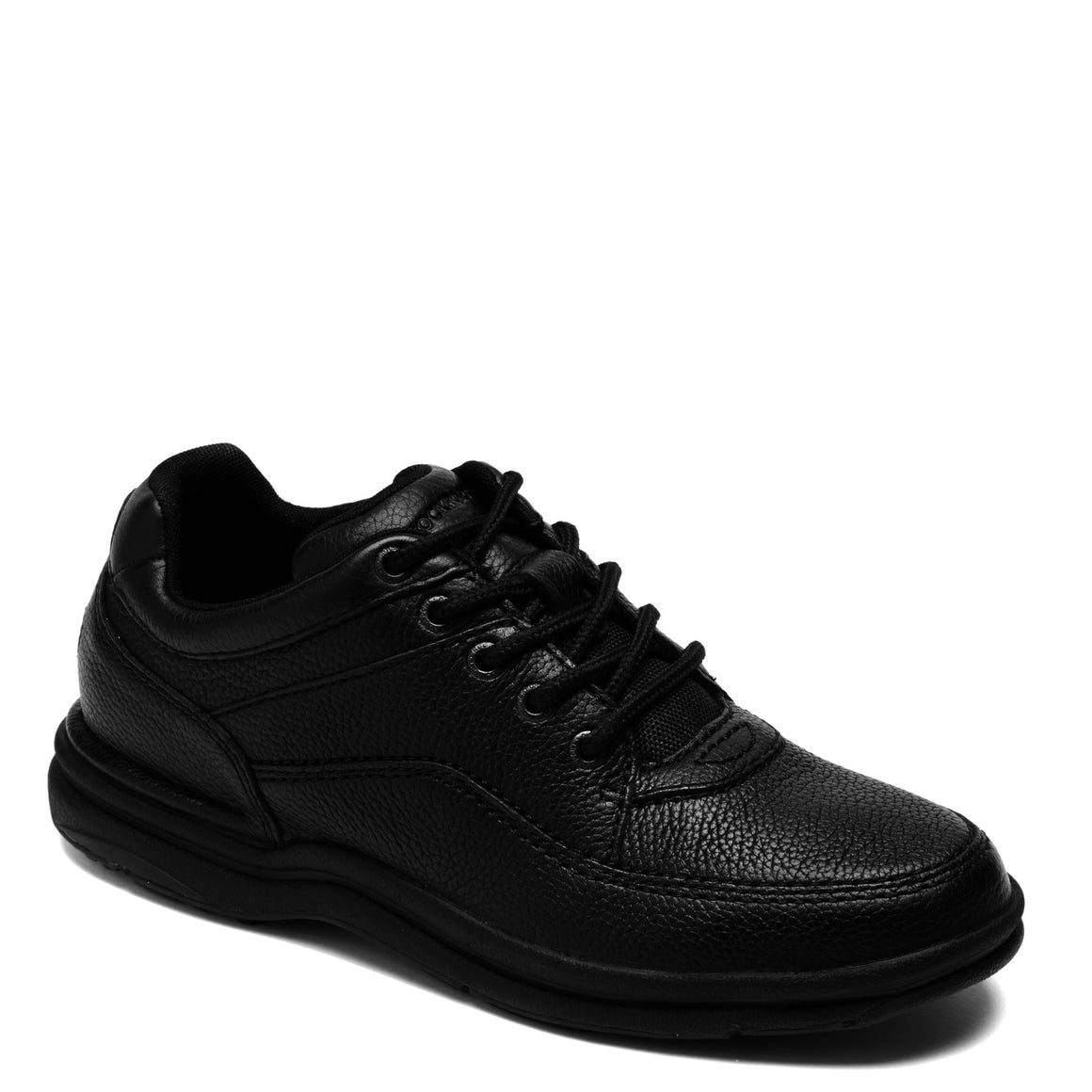 Rockport Men's World Tour Classic Walking Shoe - Black K71185 - ShoeShackOnline