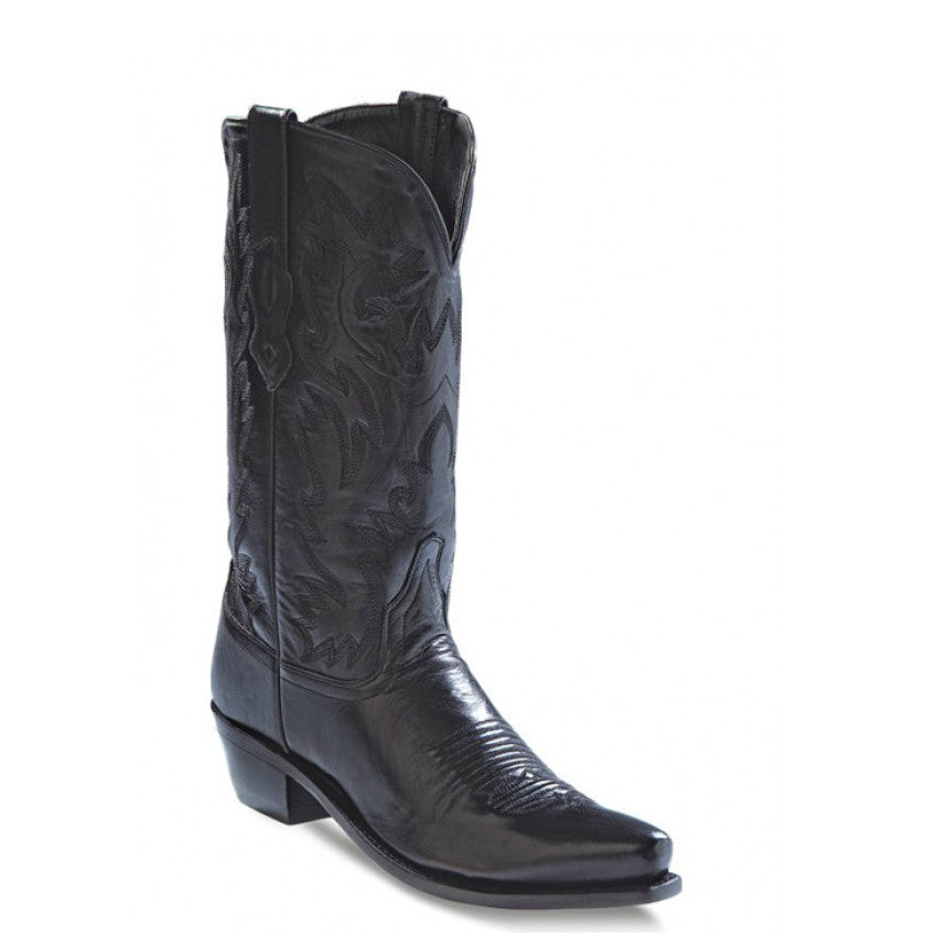 Old West Women's Fashion Western Boots - Black LF1510