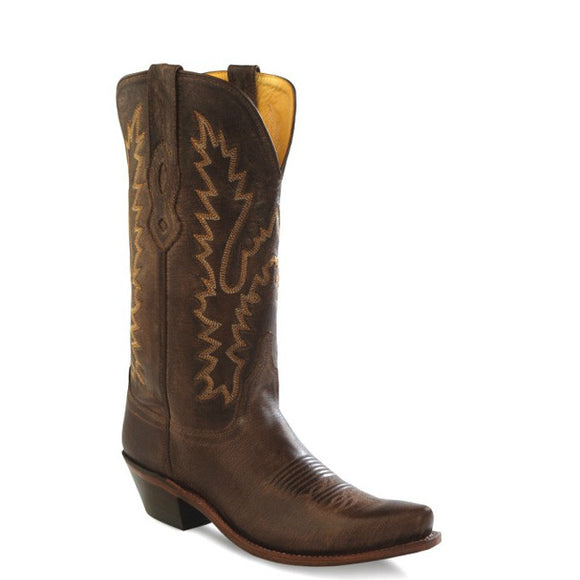 Old West Women's Fashion Western Boots - Brown LF1534