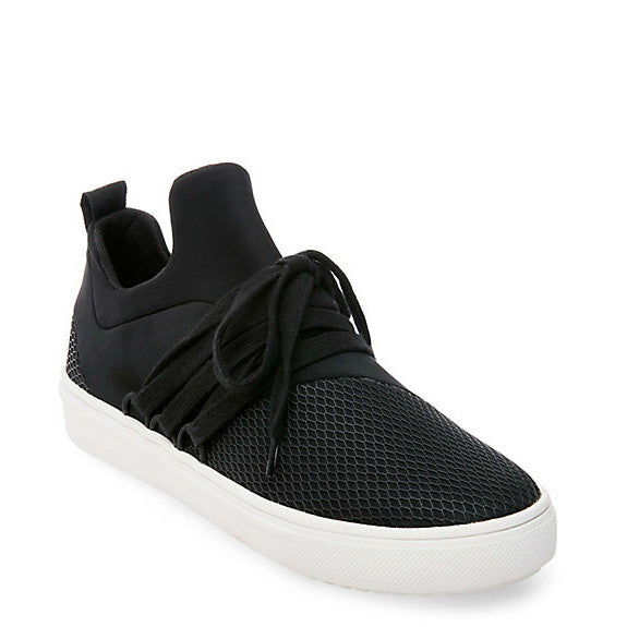 Steve Madden Women's Lancer Casual Sneaker - Black
