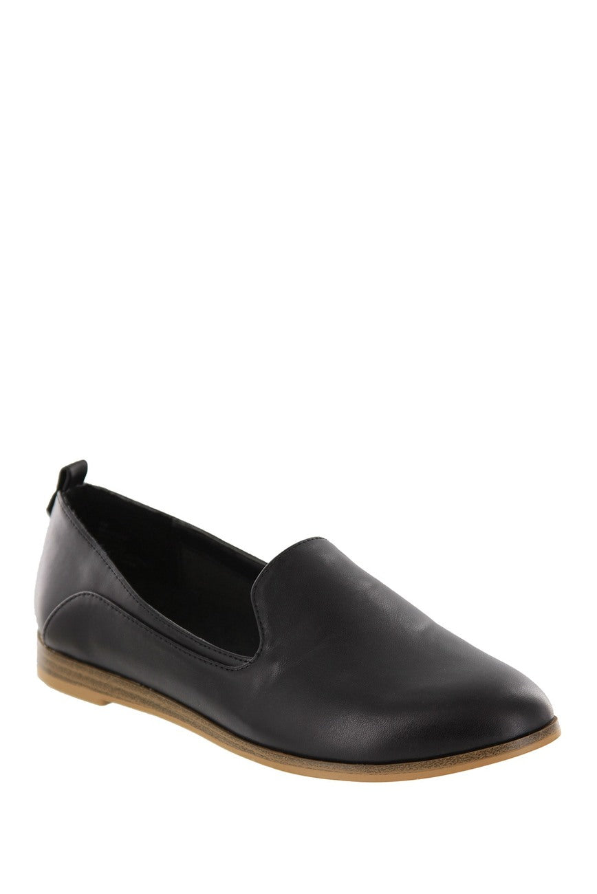 MIA Women's Eltan Slip-On Loafer - Black MH0353