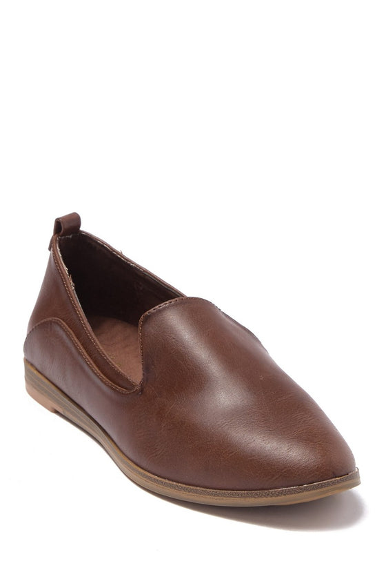 MIA Women's Eltan Slip-On Loafer - Coffee MH0353