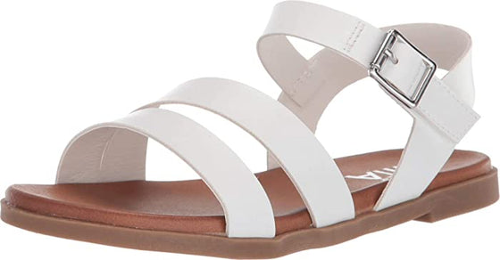MIA Kid's Coree Strap Sandal - White TGK086