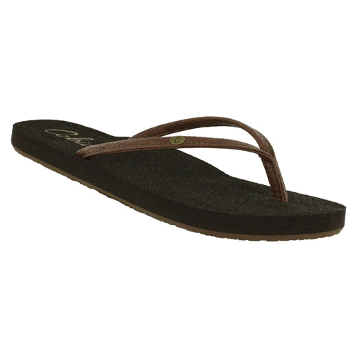 Cobian Women's Nias Bounce Sandals - Chocolate NBO13-201 - ShoeShackOnline