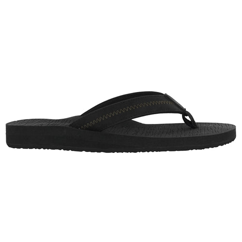 Cobian Men's Nuve Flip Flop - Black NUV19-001 - ShoeShackOnline