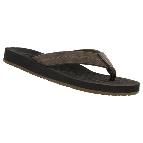 Cobian Men's Nuve Flip Flop - Brown NUV19-200 - ShoeShackOnline