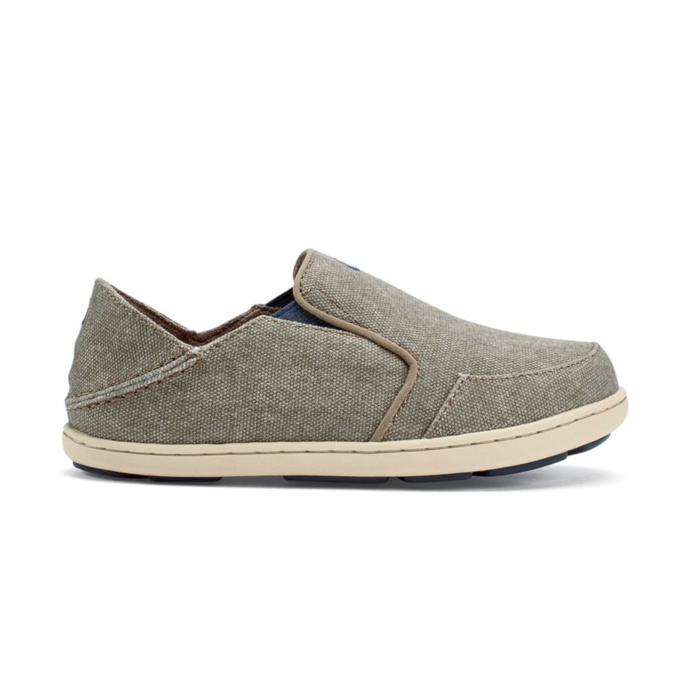 OluKai Boy's Nohea Lole Shoe - Clay/Trench Blue
