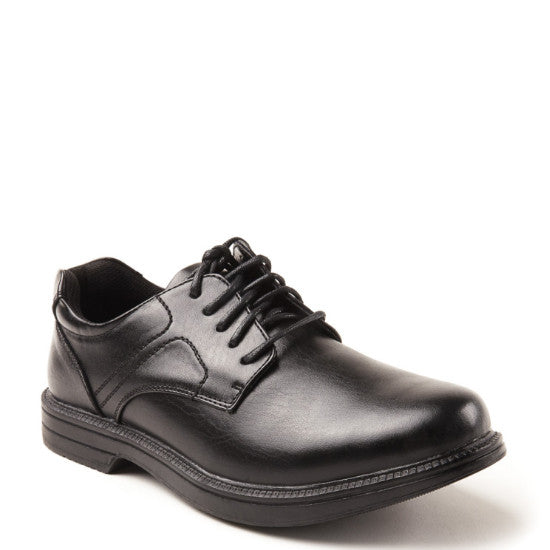 Deer Stags Men's Nu Times Oxford - Black - ShoeShackOnline