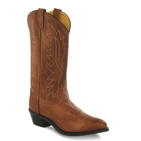 Old West Men's Polanil Western Boots - Tan OW2029