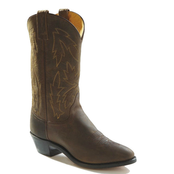 Old West Women's Polanil Western Boots - Brown OW2051L - ShoeShackOnline