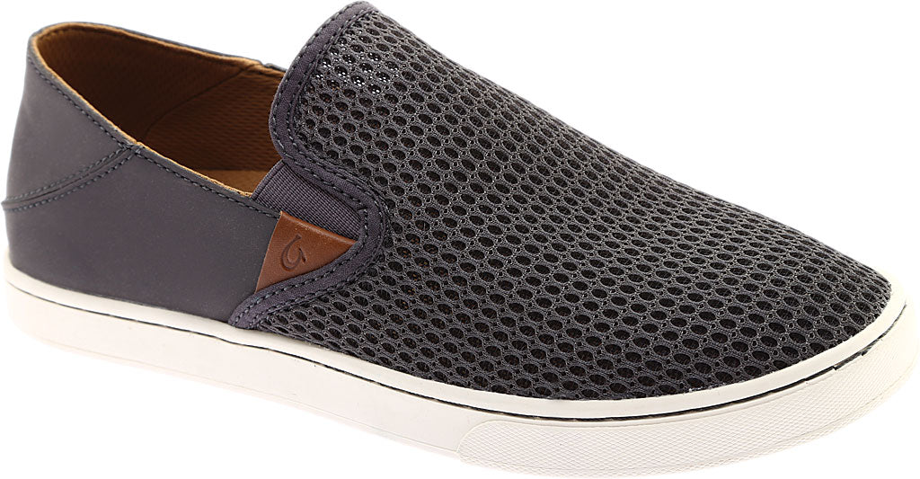 Olukai Women's Pehuea Mesh Slip On - Pavement/Pavement 20271-PVPV