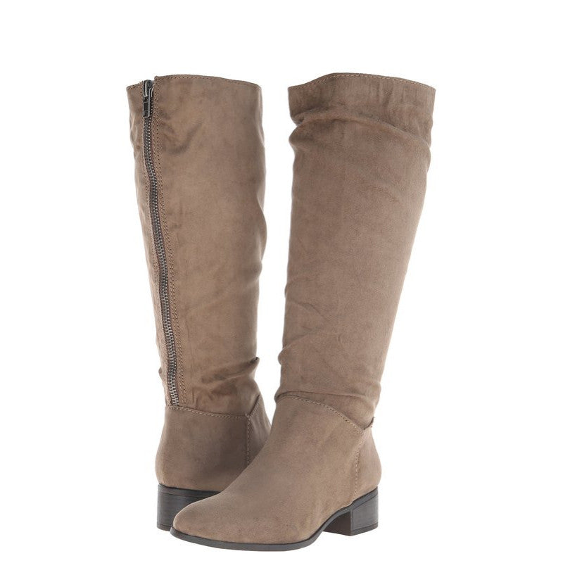 Madden Girl Women's Persiss Riding Boot - Taupe