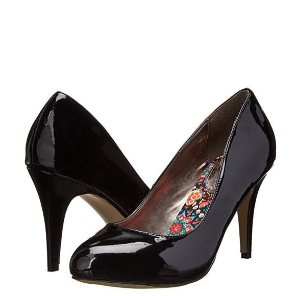 Madden Girl Women's Propose Pump - Black Patent